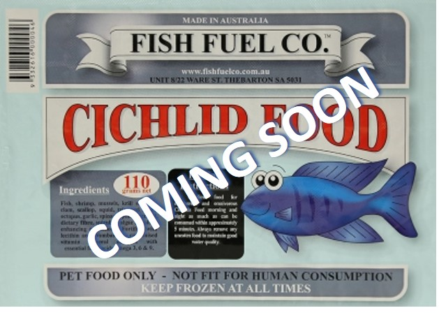 Cichlid Food - Coming Soon